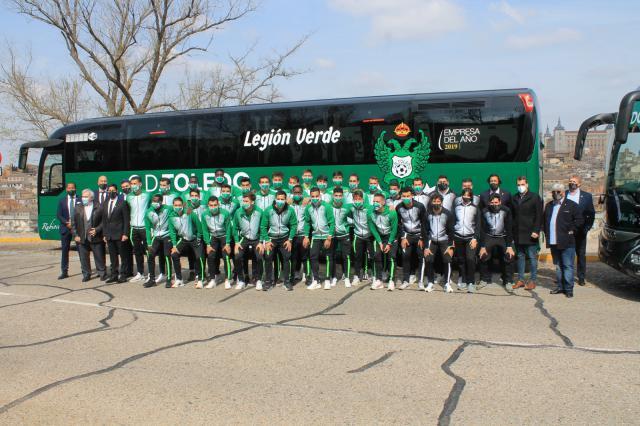 FÚTBOL | Nuevo autobús para el Toledo