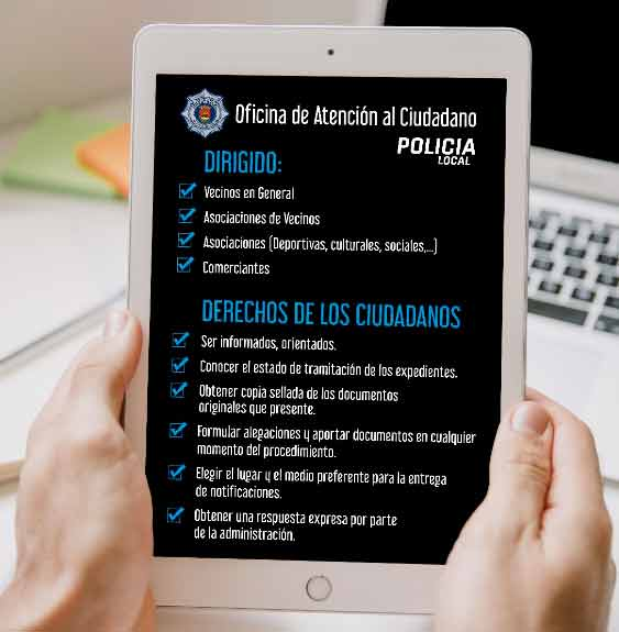 La OAC de la Policía Local de Talavera cumple seis años