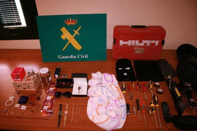 TALAVERA Y COMARCA | Detenido un grupo criminal especializado en el robo con fuerza