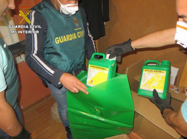 La Guardia Civil desarticula un grupo dedicado a estafar a agricultores