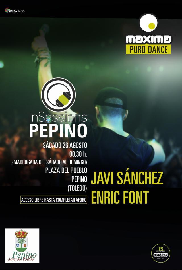 Llega a Pepino la fiesta 'Máxima FM - In Sessions'