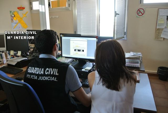 La Guardia Civil alerta del aumento de los delitos de estafa por internet