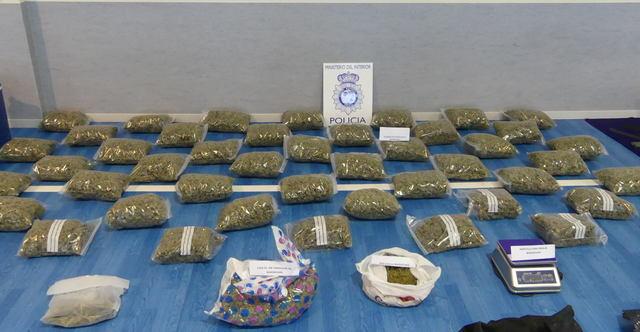 Desarticulado un grupo criminal dedicado a la distribución de marihuana y cocaína