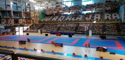 Pabellón donde se ha celebrado la competición