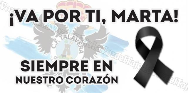 CF TALAVERA | El maravilloso detalle del club con Marta Dorado antes del partido