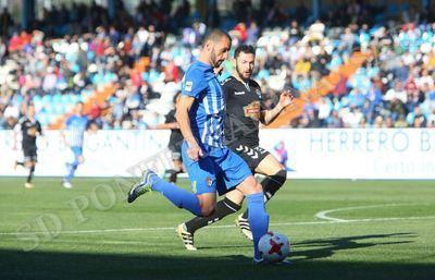 El CF Talavera consigue un 2-2 ante la Ponferradina con un gran inicio de partido