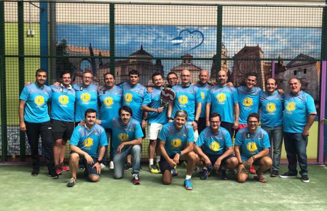 Broche final al Torneo de Pádel +35 Prado del Arca