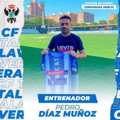 CF TALAVERA | Pedro Díaz seguirá como entrenador del juvenil División de Honor