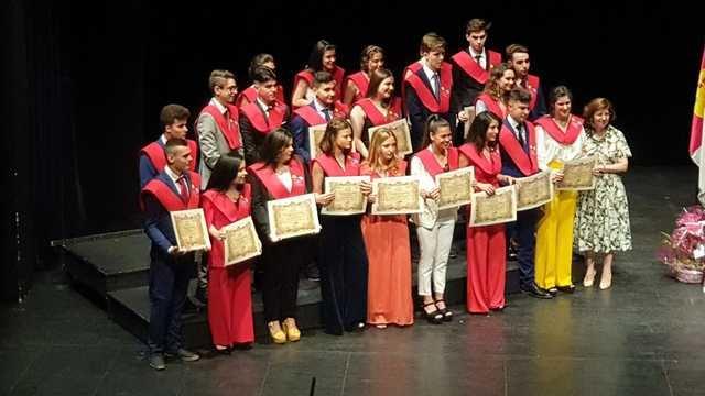 Los alumnos de 2º de Bachillerato dicen adiós al IES Gabriel Alonso de Herrera