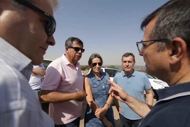 Francisco Tierraseca resalta la coordinación administrativa y el trabajo de la UME en el incendio de Toledo