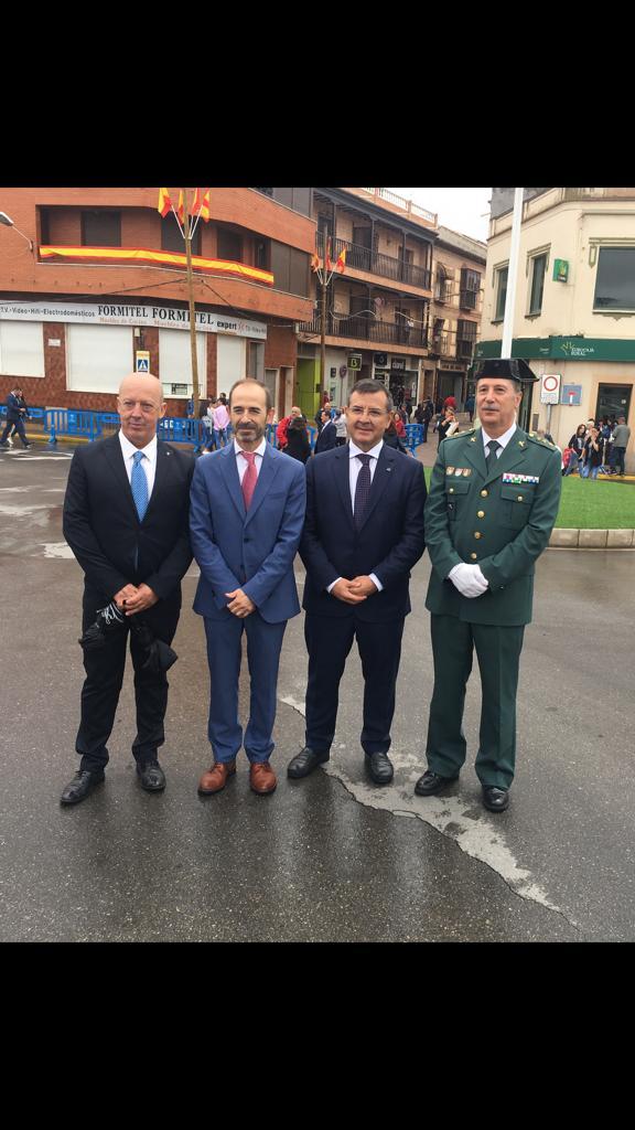 Devia participa en los actos del 175 aniversario de la Guardia Civil en Consuegra
