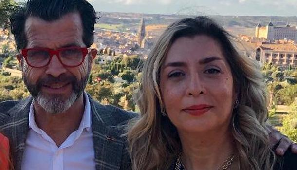 Maria de los Ángeles y Alberto Romero