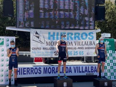 TRIATLÓN | Éxito de la UA en Guadix con victoria para Alarza