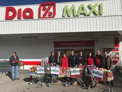 Nuevas Generaciones de la Ciudad de Toledo recoge más de 300 kilos de alimentos