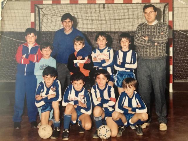 El fútbol sala siempre tenía adeptos en las ligas de Talavera