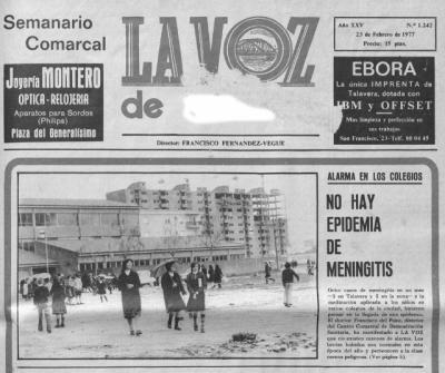 ¿TE ACUERDAS? | Alarma en Talavera ante una posible epidemia