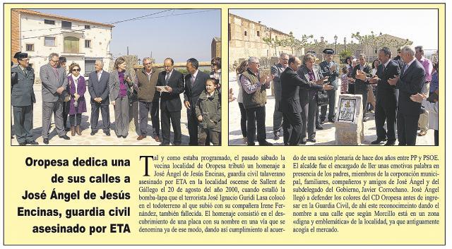 HEMEROTECA | 20 Noticias con foto y una entrevista (VIII)