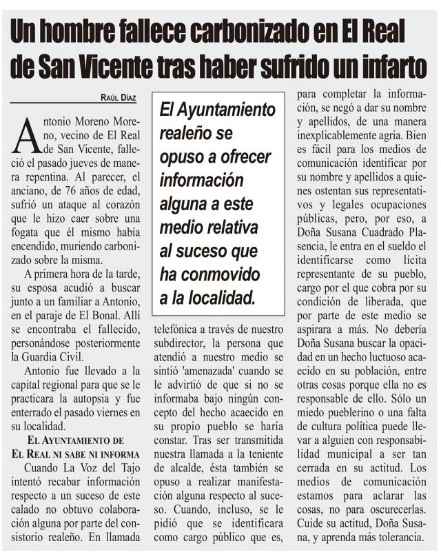HEMEROTECA | 20 Noticias con foto y una entrevista (XVI)