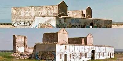 La Fundación Tagus emite un informe a Patrimonio sobre el derrumbe de una casa de postas del siglo XVIII