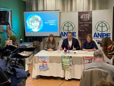 Entrega de los premios ANPE TOLEDO y presentación la campaña
