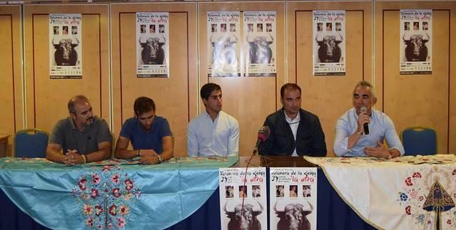 Presentada la corrida en �La Otra�, con Abell�n, Blasco y Cerro