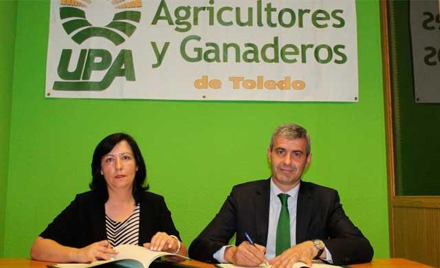 Diputación y UPA quieren dar a conocer hábitos saludables a los escolares