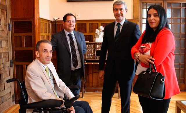 La Diputación contribuye a la salud de las personas con discapacidad física