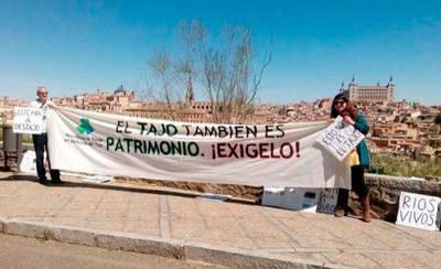 Plataforma pide la dimisión del presidente de la CHT por su nula actitud a favor del Tajo