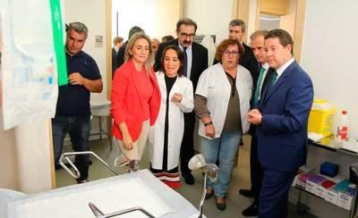 Queda inaugurado el nuevo centro sanitario de Azucaica en Toledo