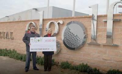 Parque Comercial El Golf sortea entre sus clientes dos cheques de 300 euros