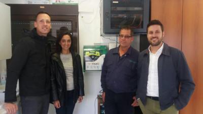 La Diputación dota de desfibriladores a sus instalaciones medioambientales, con más de 21.000 visitantes anuales