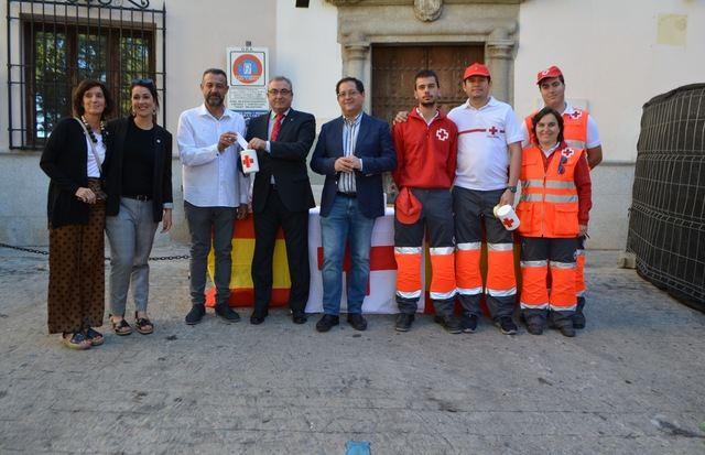 La cuestación de la Cruz Roja recibe la colaboración económica de la Diputación