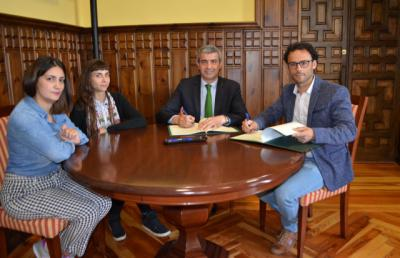 Diputación y Alganda colaboran para favorecer la convivencia en los barrios de Talavera