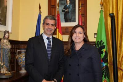 La Diputación de Toledo se interesa por los daños de las riadas en Cebolla
