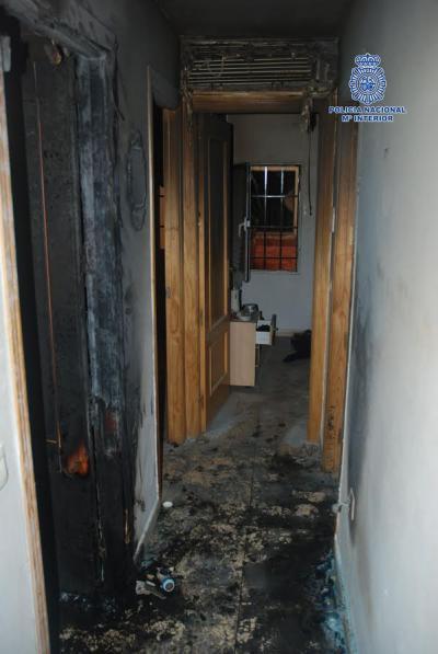 Detenido por prender fuego a una vivienda de Toledo mientras su inquilino dormía