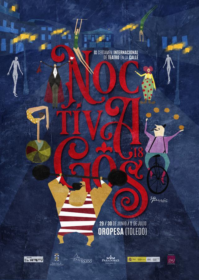 Oropesa acoge este viernes el IX certamen de teatro 'Noctívagos'