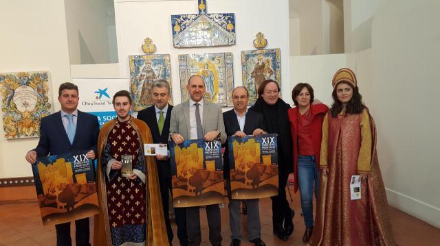 Presentación del programa de las próximas Jornadas Medievales, cuyos actos centrales se celebran  los días 13, 14 y 15 de abril