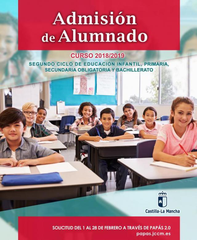 Educación oferta 1.247 plazas escolares en Talavera para el próximo curso
