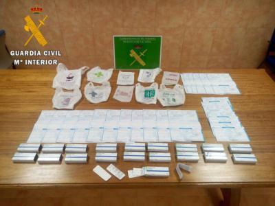 Detenido por intentar comprar tranquilizantes con 23 recetas falsas