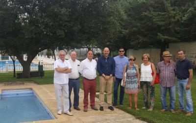 Santa Ana de Pusa mejora la zona de la piscina con el apoyo de la Diputación