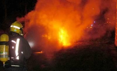 Piden 36 años para los 2 acusados de quemar el coche de un policía en Calera y Chozas