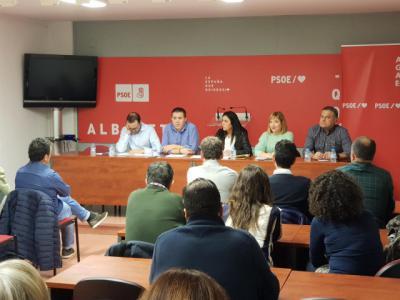 El PSOE de Albacete muestra su apoyo unánime al pacto para un gobierno progresista