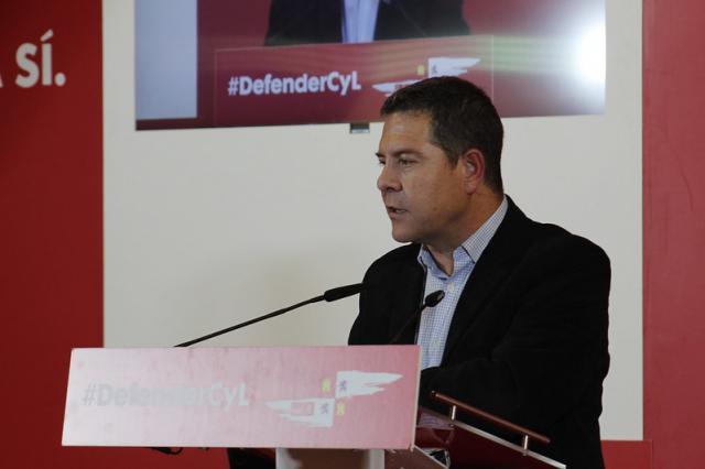 Page en su intervención en Zamora.
