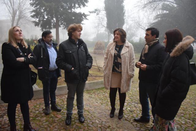 La consejera de Economía, Empresas y Empleo visita Almagro