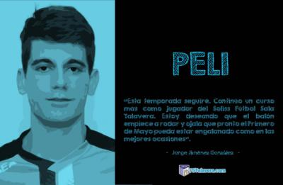 FÚTBOL SALA   El canterano Peli seguirá en el Soliss FS Talavera