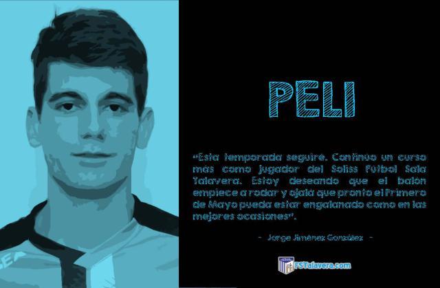 FÚTBOL SALA | El canterano Peli seguirá en el Soliss FS Talavera