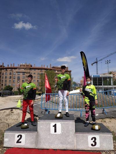 Tres podium para el club Los Pinos en la final de la Copa de Madrid