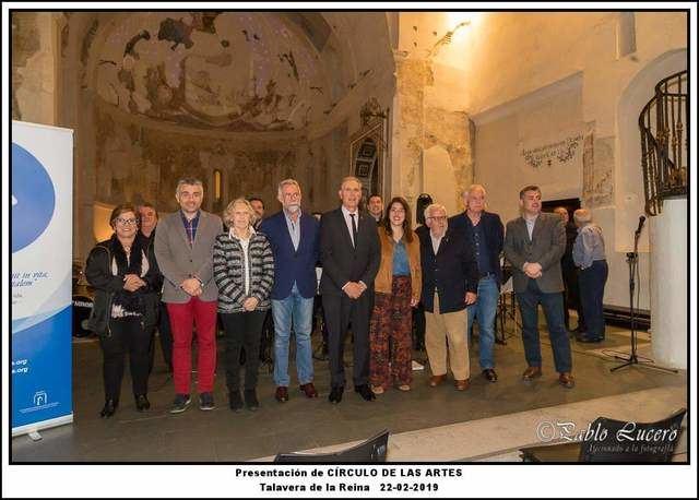 Presentación de los miembros del Círculo de las Artes de Talavera