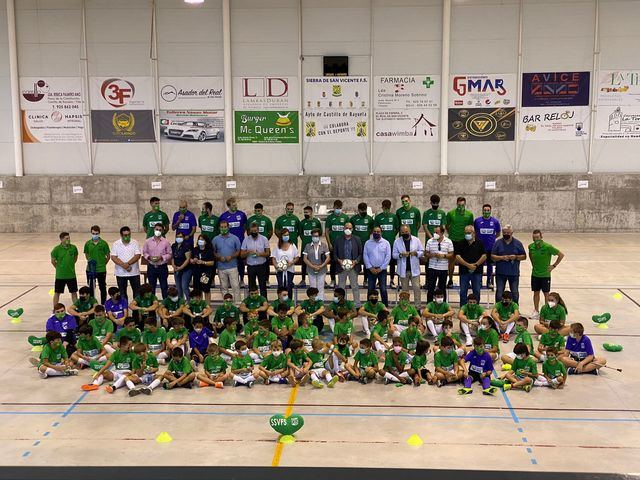 """""""Proyecto ejemplar"""" del equipo de fútbol sala Sierra de San Vicente"""