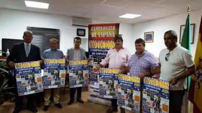 La Diputación el Campeonato de España de Motocross que se celebra en Montearagón